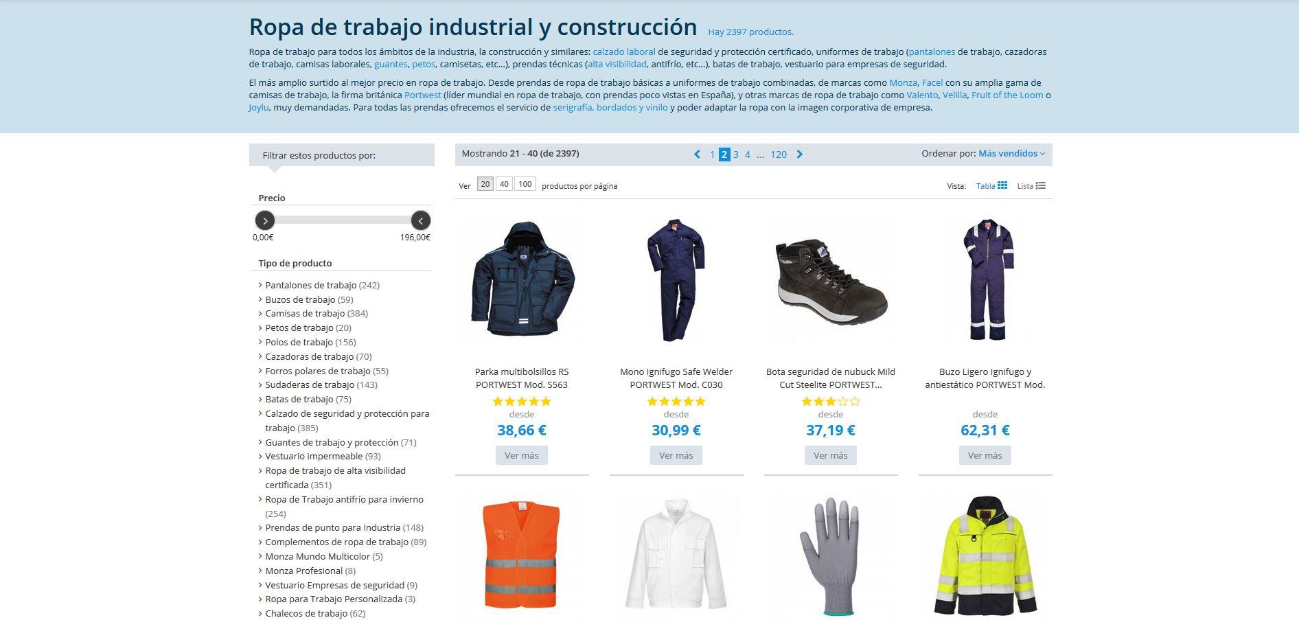 Industrial y construcción